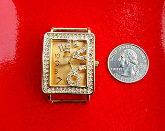 Gold Diamond Narmi Watch, Gold Narmi Watch, Big Narmi Watch Face Piece