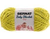 Bernat Baby Blanket Tiny Yarn Seedling Worsted Weight 4