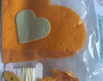 Sew your own heart kits