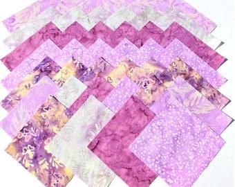 "CELESTIAL BLOSSOMS BATIKS from Batik Textiles - (40) 5"" rotary-cut batik squares"