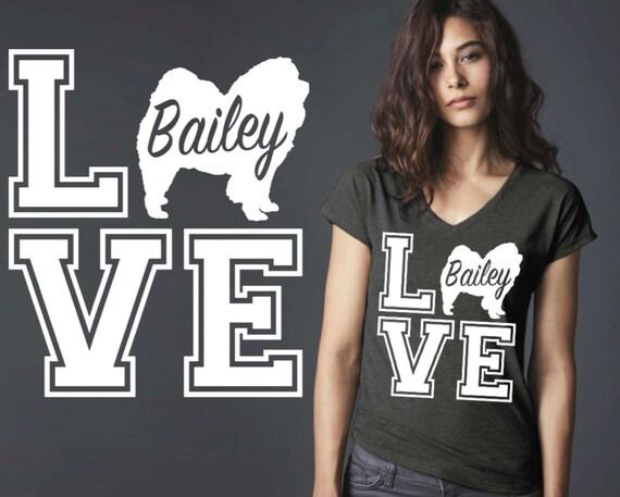 Chow | Chow Chow | Dog Shirt | Dog Lover Gift | Custom T-shirts | Personalized T-shirts | Inspirational T-shirt | Korena Loves