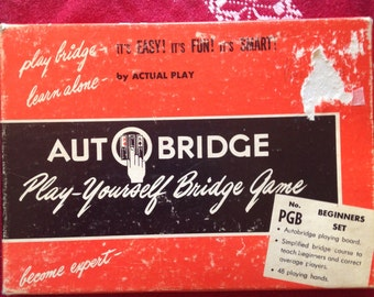 Auto Bridge Solitare Card Game 60s Classic Card Game Tutorial Board Game Family Game
