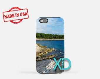 Rocky Beach iPhone Case,  Ocean iPhone Case, Sand iPhone 8 Case, Water, iPhone 6s Case, iPhone 7 Case, Phone Case, iPhone X Case, SE Case
