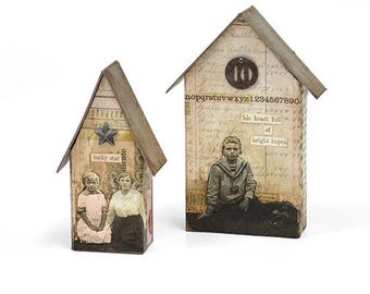 Sizzix - Bigz L Die - Tiny Houses by Tim Holtz