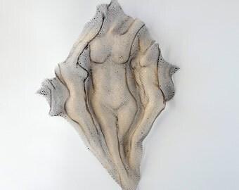 Modern Metal wall art Metal torso home decor Sculpture nude metal wall art sculpture, Wall decor