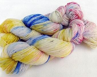 Handdyed SockYarn, 75 Wool, 25 Nylon 100g 3.5 oz. Nr. 758