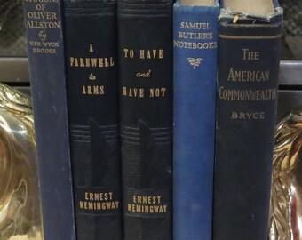 Blue Book Set ~ Collection of 5 Books ~ Interior Designer Books ~ Instant Library Blue Books