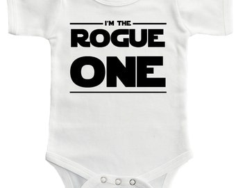 Rogue One Baby One Piece Bodysuit Romper - 4 Colors!
