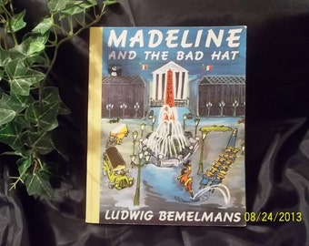 Madeline And The Bad Hat Ludwig Bemelmans 1977