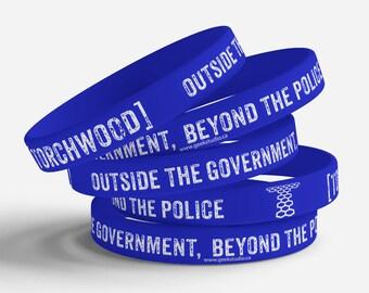 Torchwood jelly bracelet