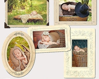 ON SALE Digital  Frames Vintage  vol.2
