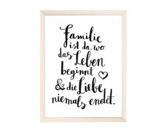 Artprint family is where life begins