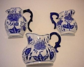 Vintage Formalities by Baum Bros. wall pocket vase- set of three