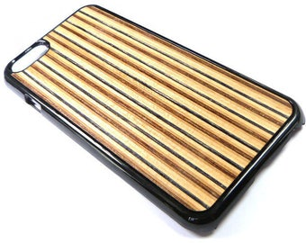 Skateboard iPhone 6 / 6s Case, Recycled Skateboard, Wood iphone 6 / 6s Case, Wood Phone Case, Reclaimed Wood, Fast Shipping