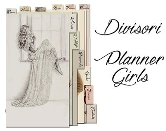 Planner girls .... dividers for PERSONAL planner