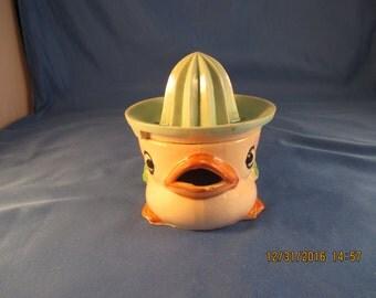 Rare Duck Head Reamer Juicer REDUCED