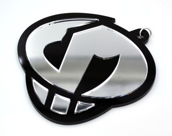 LARGE Team Skull Emblem (Silver) (not being restocked!)