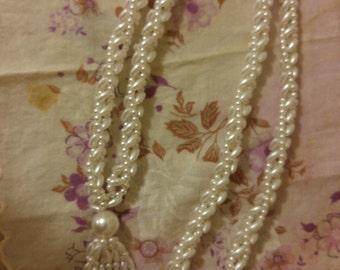 Vintage seed pearl necklace