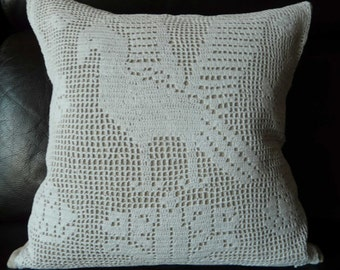 Antique linen cushion covers, pillowslips, scatter, decorative cushion from vintage linen and crochet NEW LOWER PRICE