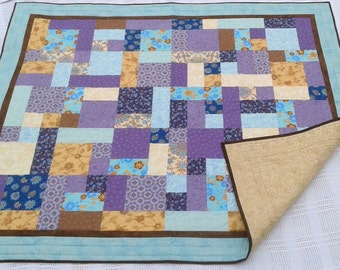 Beautiful Floral Lap/Twin Quilt