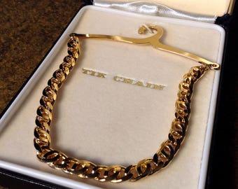 Vintage Tie Chain - with Original Box - The Chain - Pierre Cardin -
