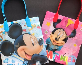 Mickey and Minnie Party Bags