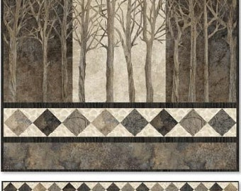 Prelude to Winter Pattern Based on Stonehenge Elements Collection