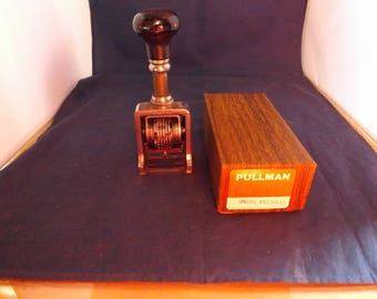 Pullman Special Assembled Stamper With Box