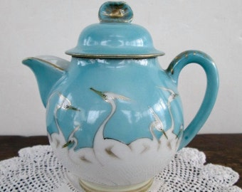 Sale Cute Nippon Bird Teapot