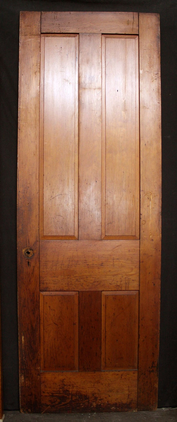 32 x90 antique vintage victorian solid wood wooden for Vintage solid wood doors