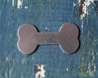 """Aluminum Dog Bone 18G Stamping Blank - 1.50"""" x .75"""" Thick Gauge Stamping Blank - 1 Per Pack - Made in USA - SG-A-018"""