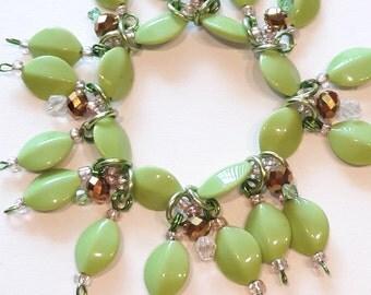 Lime green bracelet/ Cruise/ Lime/ Bracelet/ beadiebracelet