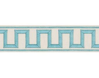 Miles Redd 'Greek Key' Embroidered Trim