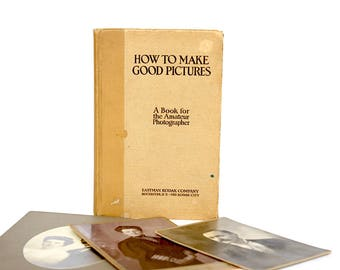 Vintage Photography How To Book - Vintage Eastman Kodak Book - Vintage Camera Book - Eastman Kodak Camera Book