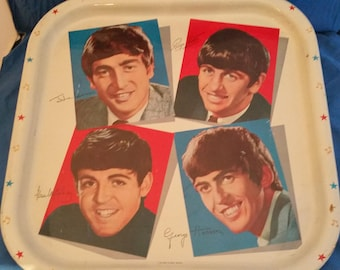 A  1960's Beatles collector metal tray