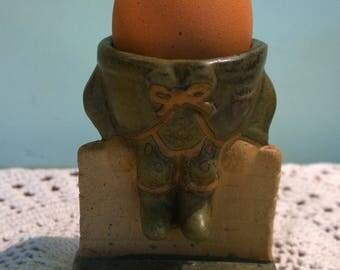 Humpty Dumpty egg cup vintage retro pottery