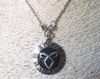 Shadowhunter necklace with angelic rune, rune