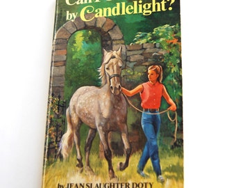 Vintage Children's Book, Can I Get There by Candlelight?