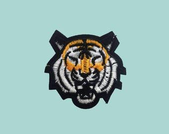 Ironfix embrodery patch Tiger