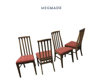 Customizable Mid Century Dining Chairs (set of 4) | 2222-02776