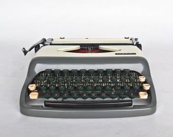 Vintage Portable Typewriter / Tops M-1 / 60's Yugoslavia