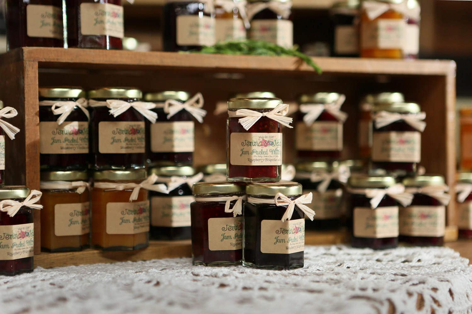 rustic wedding favors wedding favors 50 2oz jam wedding