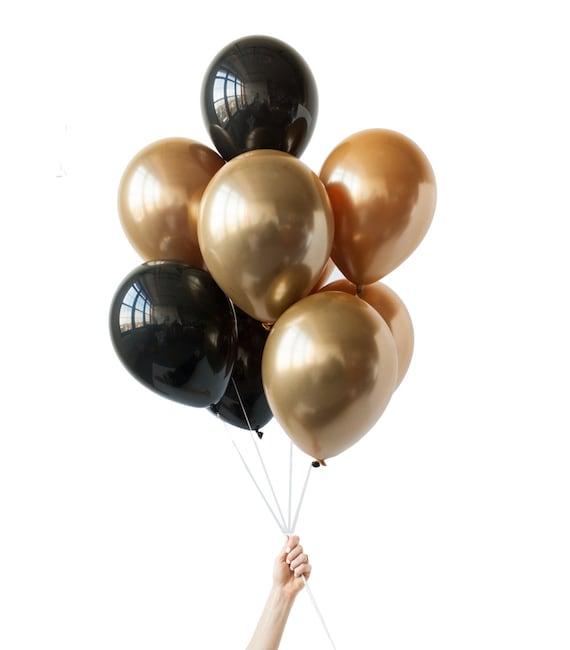 Black balloons png