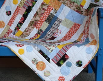 Handmade Baby Quilt Cotton Patches