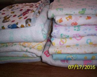 Sale 20% off Baby Fabric Lot- Bundle assorted yardages, approximately 20yards