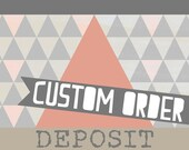 Custom Order for Bec Touzel:  Sassy Satchel in Distressed Biscuit Brown bovine leather