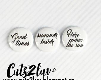 "3 badges 1 ""Summer lover"