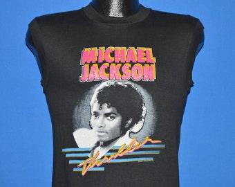 80s Michael Jackson Thriller Deadstock t-shirt Extra Small