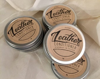 All Natural Leather Conditioner, Vegan Leather Conditioner, Leather Treatment, Leather Restorer, Shoe Shine, Leather Care