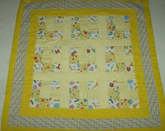 Yellow Infant Quilt